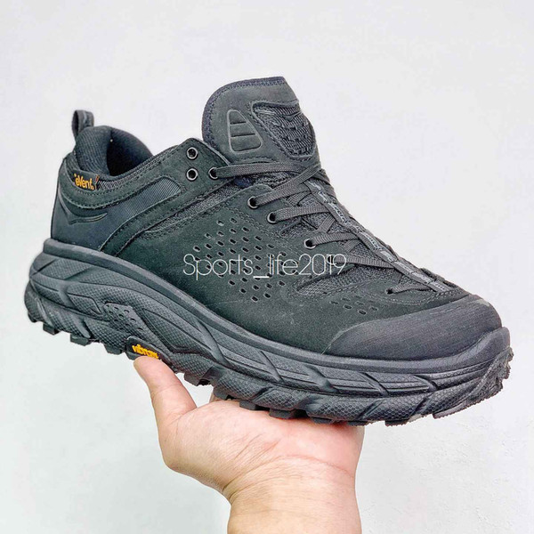 top popular Hoka One One Tor Ultra High Mens Climbing Moutains Boots for Men Outdoor Walking Boot Man Hiking Shoes Male Trekking Shoe Men's Camping 2021