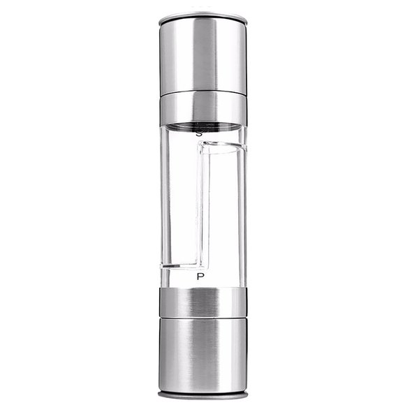 best selling Durable Stainless Steel Spice Sauce Salt Mill Grinder Manual Pepper Mill