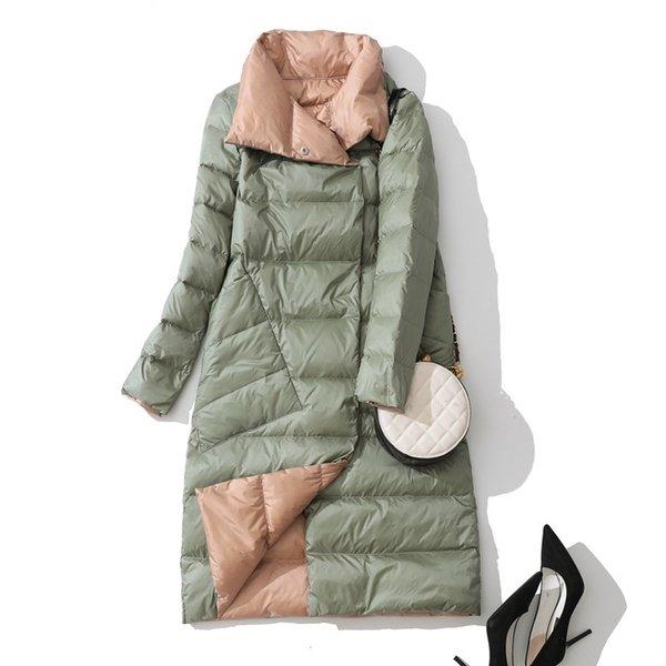 Yeşil aşağı ceket