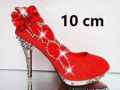 10 cm vermelhos