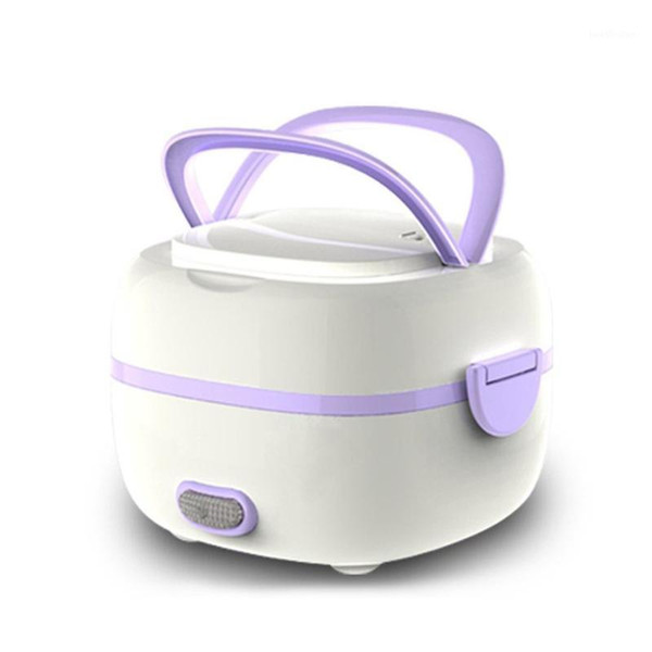best selling 2021 New Multifunctional Electric Lunch Box Mini Rice Cooker Portable Heating Steamer Heat Preservation Lunch Box EU Plug1