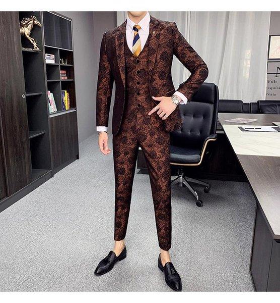 Grey Plaid Suits