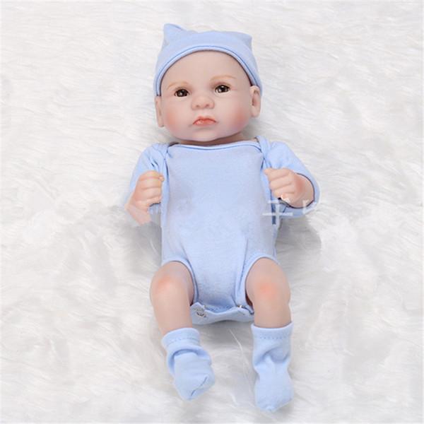Azul ojos abiertos chico