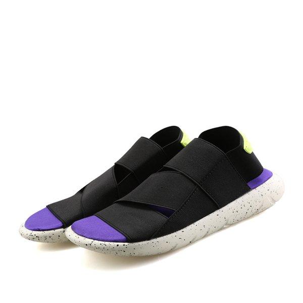 Púrpura y negro
