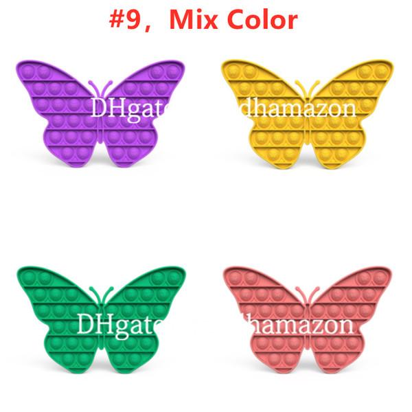 # 9, mélange couleur
