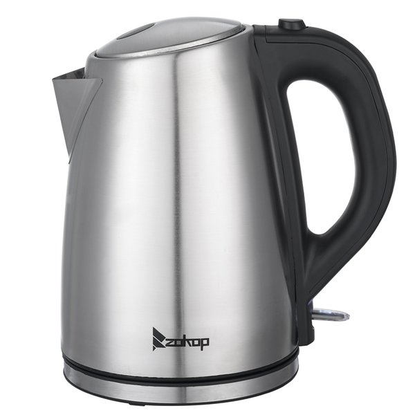 best selling WACO Electric Kettle,110V US Standard 1500W 1.8L Stainless Steel , Portable Fast Hot Water Kettle for Tea and Coffee Boiler Heater Silver