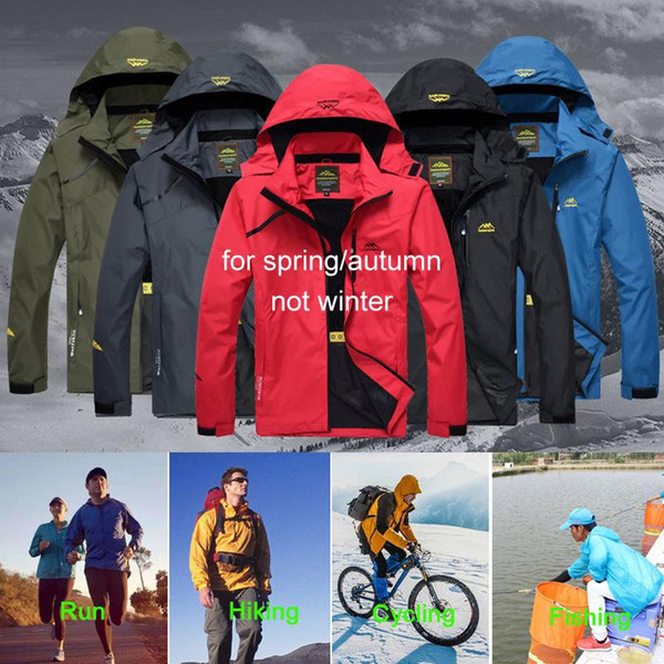 best selling Rain Men Loclimb Climbing Men's Spring Sports Outdoor Coat Hiking Trekking Jacket Windbreaker Fishing Waterproof Jackets EEA2233
