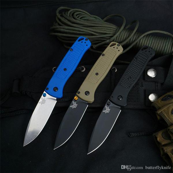 best selling BENCHMADE BM 535 Bugout folding knife Polymer handle S30V blade outdoor camping mini EDC BM 940 BM781 BM810 BM3300 C07 C81 butterfly knife