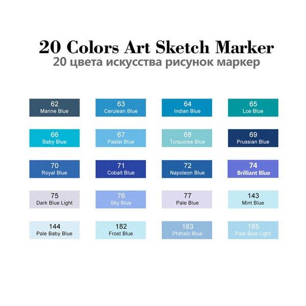 20 Set di colori