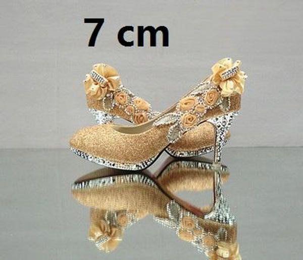 Ouro 7 cm.
