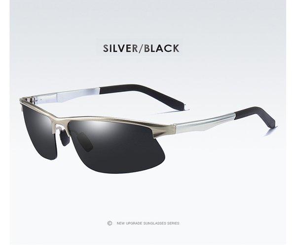 Silber Schwarz