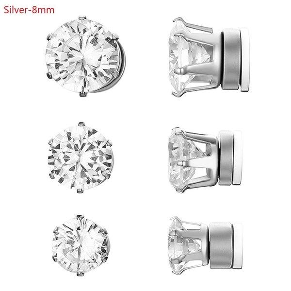 Silver-8mm