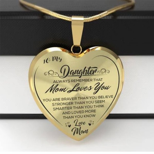 Fashion accessory Wiah mother Necklace Princess clavicle chain daughter loves mom Pendant all about making you beautiful