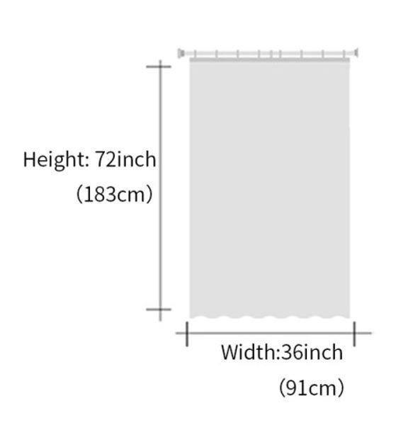 1pc Shower Curtain2