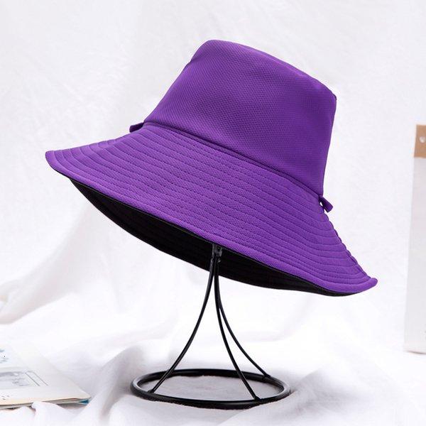 Reversible Purple Black