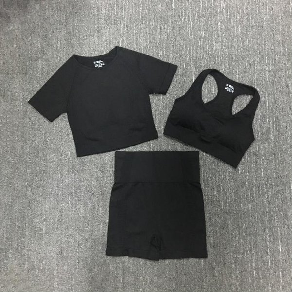 Black Short 3pcs.