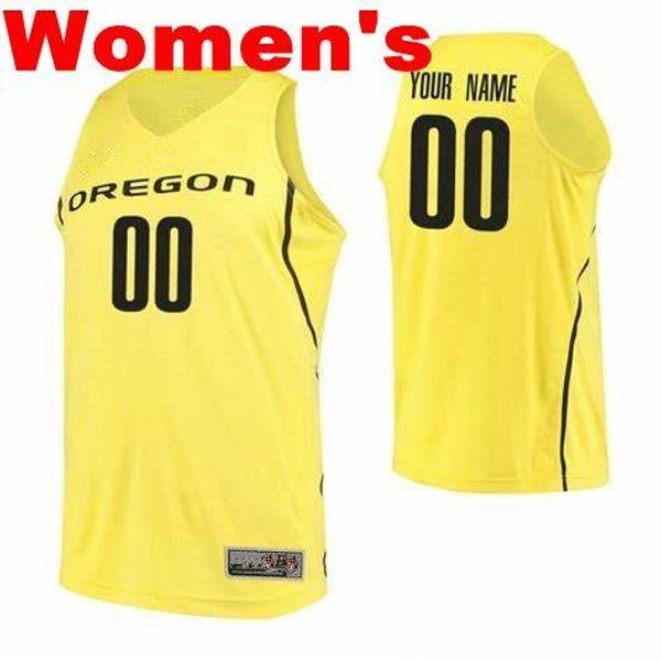 Femme jaune noir