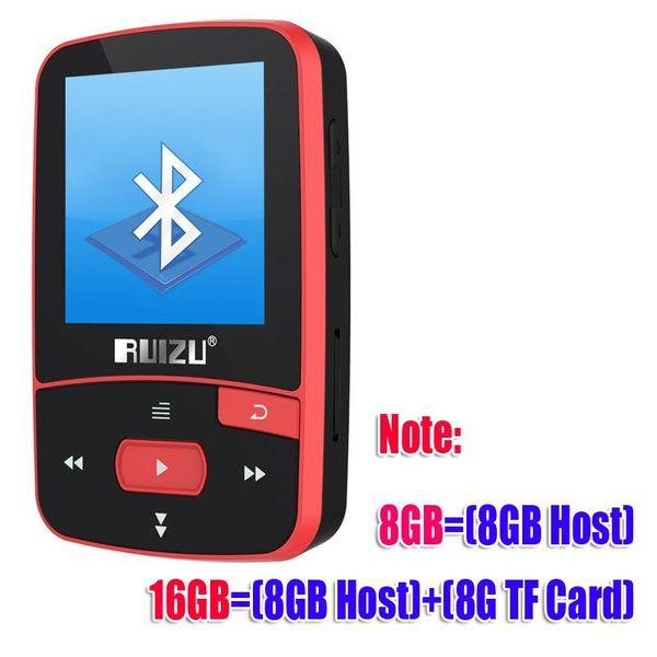 CX-MP3-X50-Red 4GB
