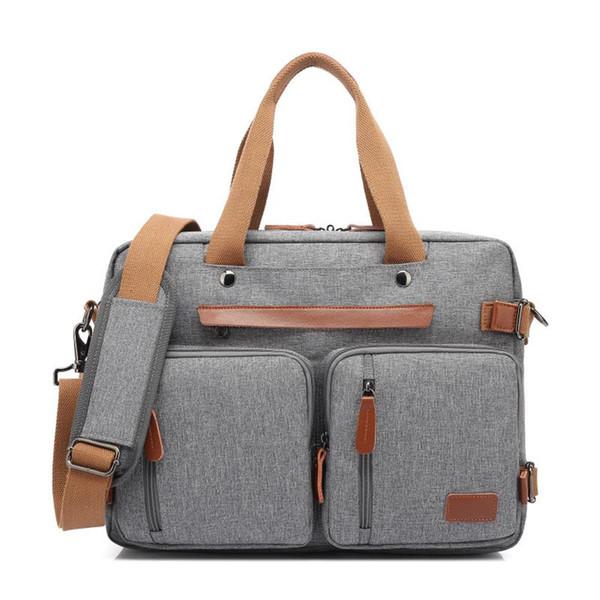 best selling CoolBELL Convertible Backpack Messenger Shoulder Bag Laptop Case Handbag Business Travel Rucksack Fits 15.6 17.3 Inch Laptop 201118