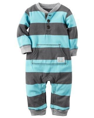 Green Gray Stripe