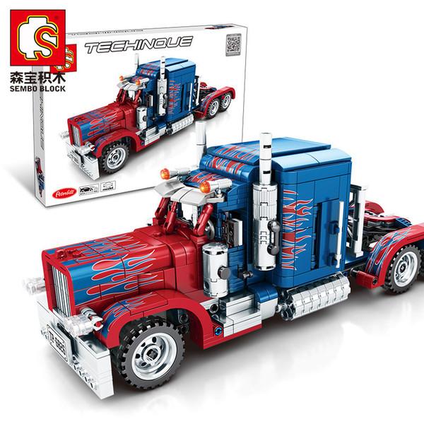 best selling Senbao 7010803 Optimus Peter pillar bilt long container truck complex