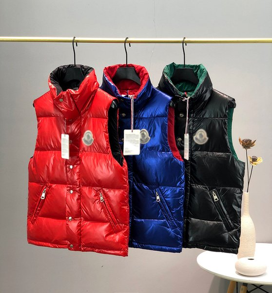 best selling 2020 autumn and winter new vest high quality designer vest fashion men vest jacket luxury casual blue black red
