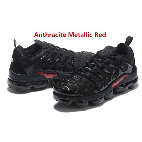 Antracita metálico rojo