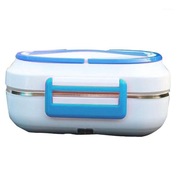 best selling Large Capacity Plug-In Insulation 3 Grid Stainless Steel Liner Electric Heating Lunch Box1