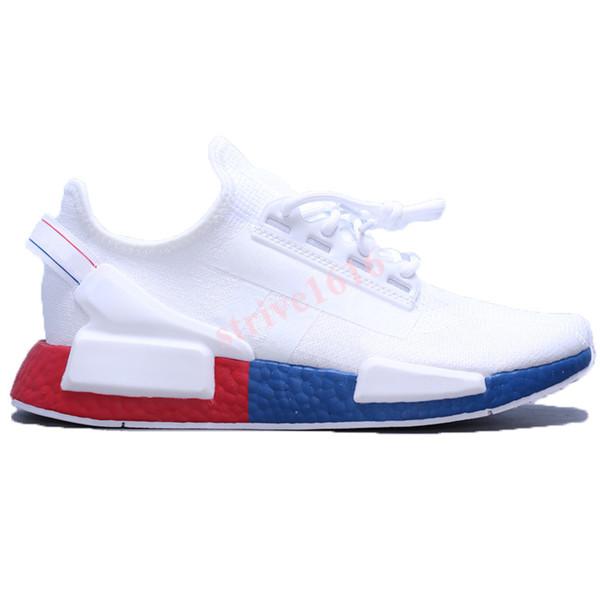 14 weiß rot blau