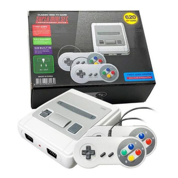 best selling Video Game Console 620 game Double play for snes mini Retro game console