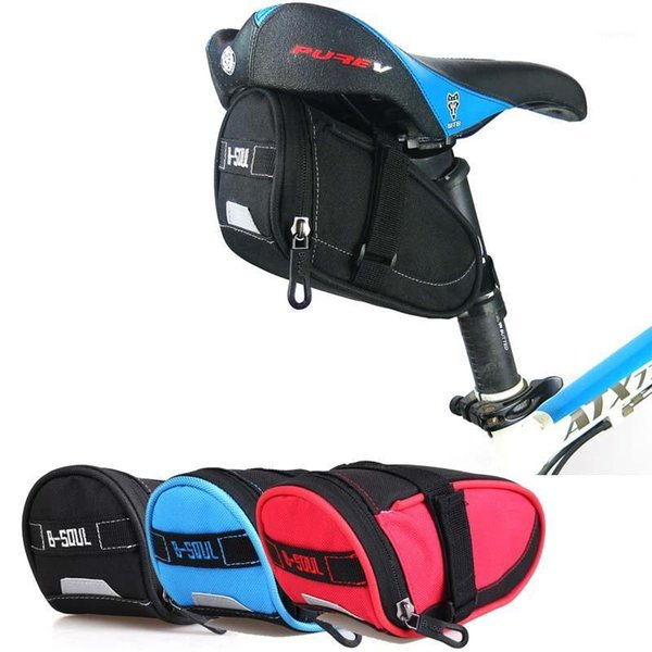 top popular Cycling Bags Waterproof Mountain Bicycle ,Nylon Durable Tail Bag,Road Bike Rear Seat Bag Accessories Bags1 2021