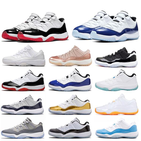 best selling Original Men Women Basketball Shoes 11 Concord High Athletics Outdoor Mens 11s Sneakers UNC Win Like SatinJordanRetro