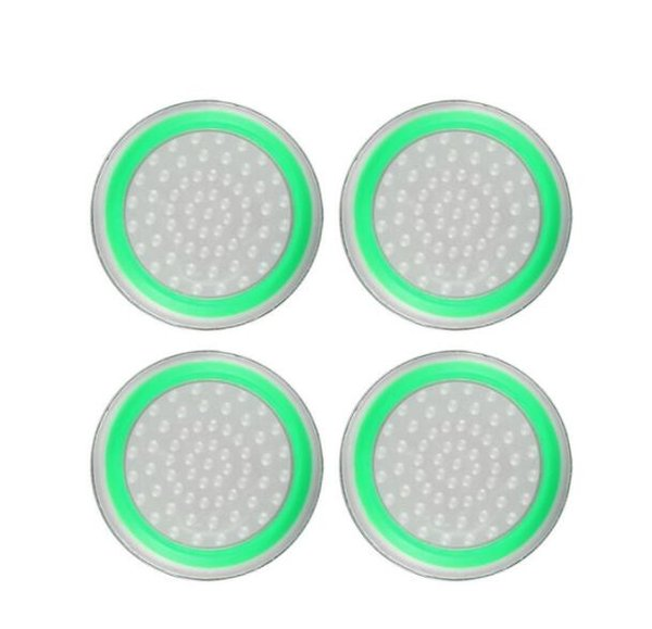 Прозрачный зеленый круг