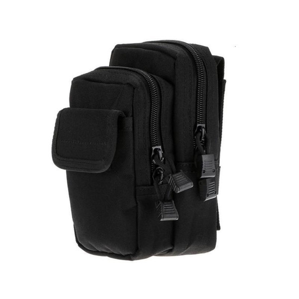 top popular PALS Tactical Molle Waist Pack Utility Waist Bag Travel Army Pouch Outd 2021