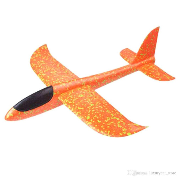 best selling 2019 Hand Throw Flying Glider Planes Toys for Children Foam Aeroplane Model Party Bag Fillers Flying Glider Plane Toys Game #40