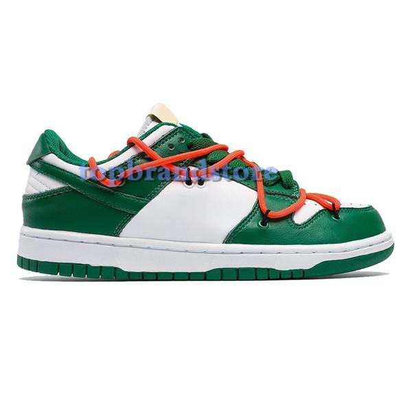 4.Pine Green white