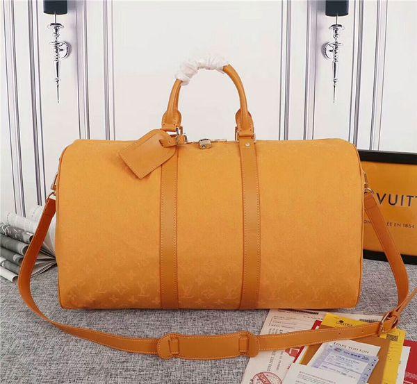 Оранжевый холст сумка