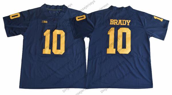 10 Tom Brady Bleu marine