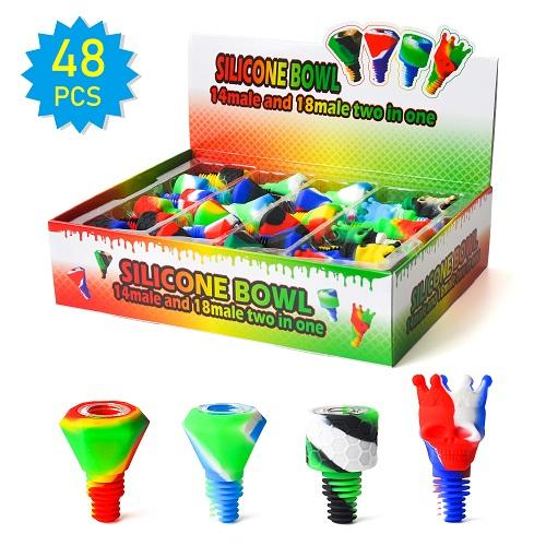 mix silicone bowl
