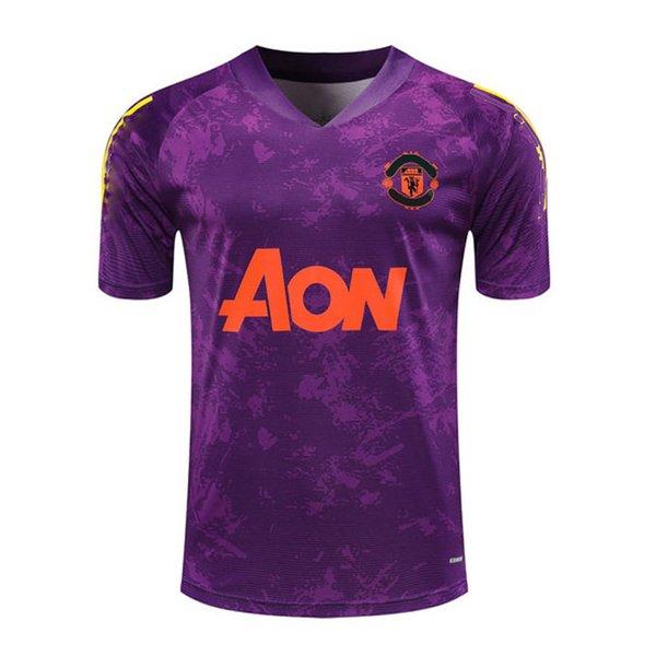 418G427 2021 Short sleeve purple Top