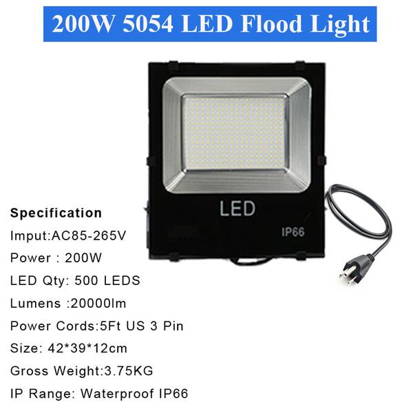 4 ADET 200W 5054 projektör