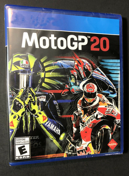 top popular 2020 hot sale factory sealed video games MotoGP 20 top quality Free shipping 2020
