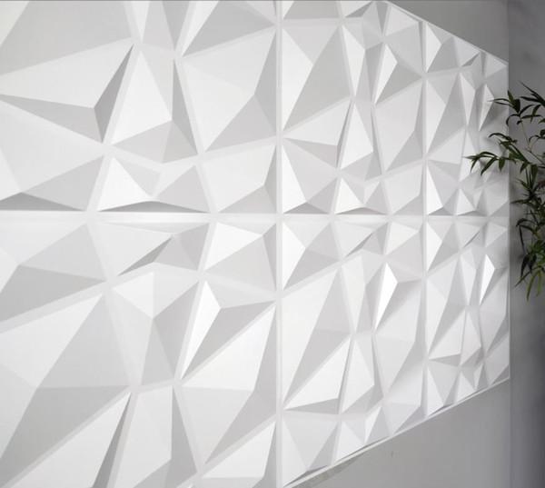 best selling Wallpaper decorative 3D wall paneling diamond design 12 tiles 32 square feet (vegetable fiber) WallStickers