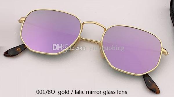 001/8O gold/lalic mirror lens
