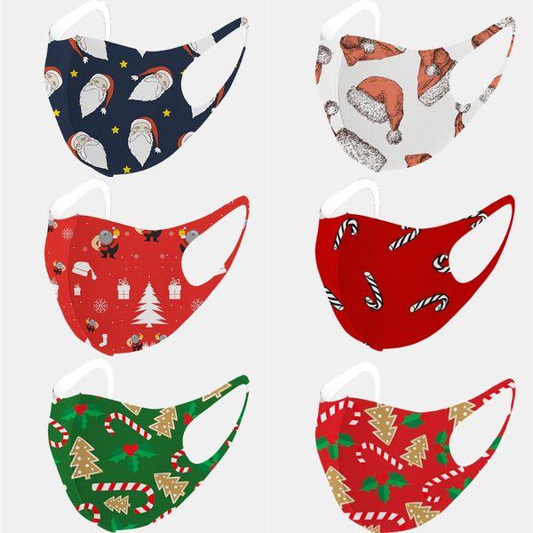 best selling Cheap mascarillas designer mask face mask designer Christmas print adult mask Ice silk cotton material Masks D91008