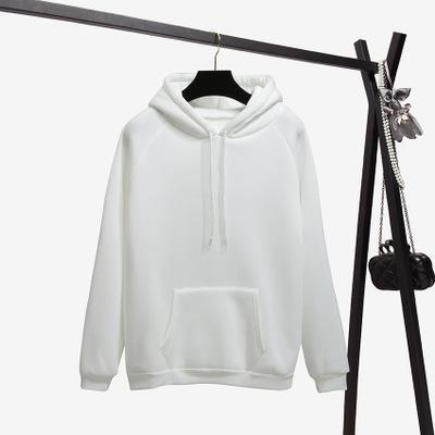 Weiß Hoodie
