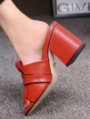 Gmodel # 2 cuir rouge