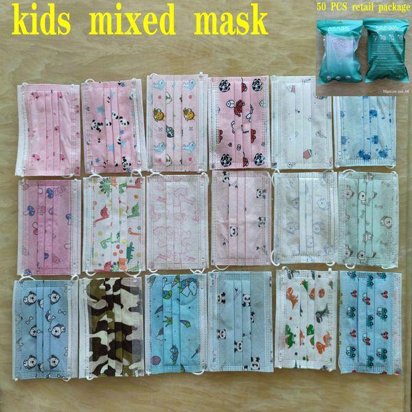 Misture máscara de crianças