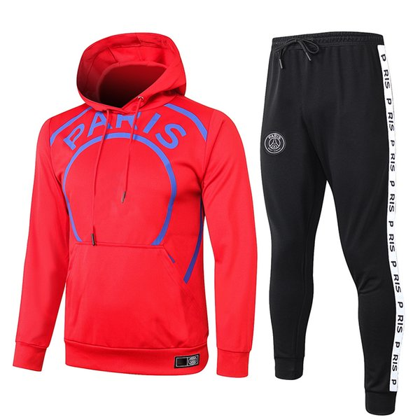 P.S.G AJ Red Hooded