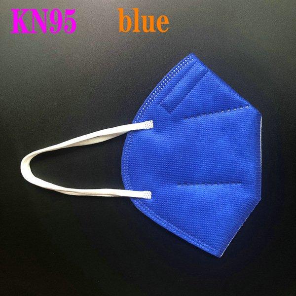 KN95 bleu foncé sans vanne
